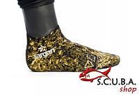 Носки для подводной охоты Sargan Сталкер RD2.0 с кевларовой подошвой 7 мм, фото 1