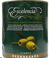 Оливки зеленые без косточки Excelencia Verdes Deshuesdas 4150g