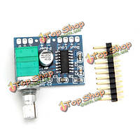 Pam8403 Mini 5В цифровой усилитель плата с потенциометром переключателем