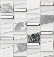 Мраморная мозаика для кухни Vivacer DAF20