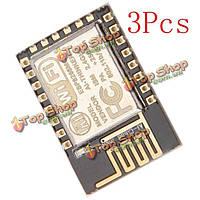 3шт с esp8266 эцн-12е удаленный последовательный порт беспроводной приемопередатчик беспроводной модуль