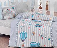 Постельное белье для детской кроватки Cotton Box Gezgin Mavi