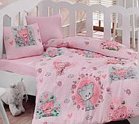 Постельное белье для детской кроватки Cotton Box Mini Pembe