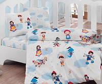 Постельное белье для детской кроватки Cotton Box  Masal Dunyasi Bordo