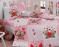 Постельное белье для детской кроватки Cotton Box Yumi Kahve