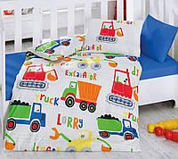 Постельное белье для детской кроватки Cotton Box  Santiye Mavi
