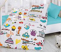 Постельное белье для детской кроватки Cotton Box Mutlu Bebek
