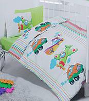Постельное белье для детской кроватки Cotton Box  Taşıt Yeşil