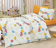 Постельное белье для детской кроватки Cotton Box Cik Cik Sarı