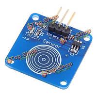 Пробежка Тип датчика касания модуль емкостного сенсорного переключателя модуль для Arduino