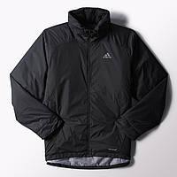 Куртка спортивная мужская adidas Ht Wt Padded J F95314 (черная a555e9340d4a4