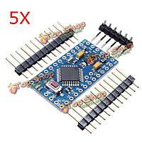 5шт 328p микроконтроллеров atmega328 5В 16МГц совместимых с Arduino Nano Размер модуля доски