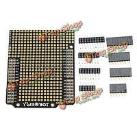 Комплект поделок расширения protoshield печатных плат макетная плата совместима UNO R3 для Arduino