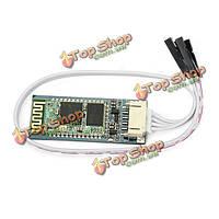 JY-Микроконтроллер v1.07 беспроводной Bluetooth  модуль последовательной передачи с опорной плитой HC06 ведомое SMD гнездо