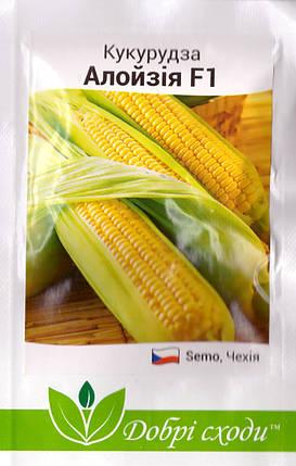 Семена кукурузы сахарной Алойзия 3г ТМ ДОБРІ СХОДИ, фото 2