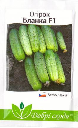 Семена огурца Бланка F1 50шт, фото 2