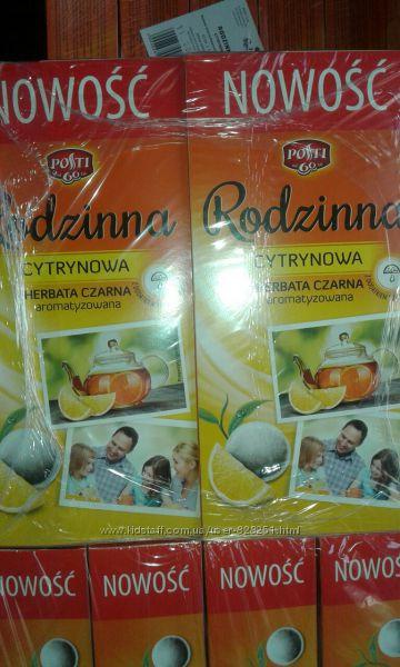 Чай Express POSTI Rodzinna с лимоном
