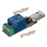 USB интеллектуальный модуль реле защиты от перегрузки по току поддержки выключатель с индикатором LED