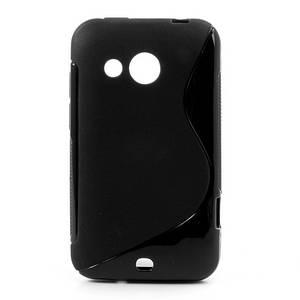 Чехол силиконовый S формы на HTC Desire 200 102e, черный