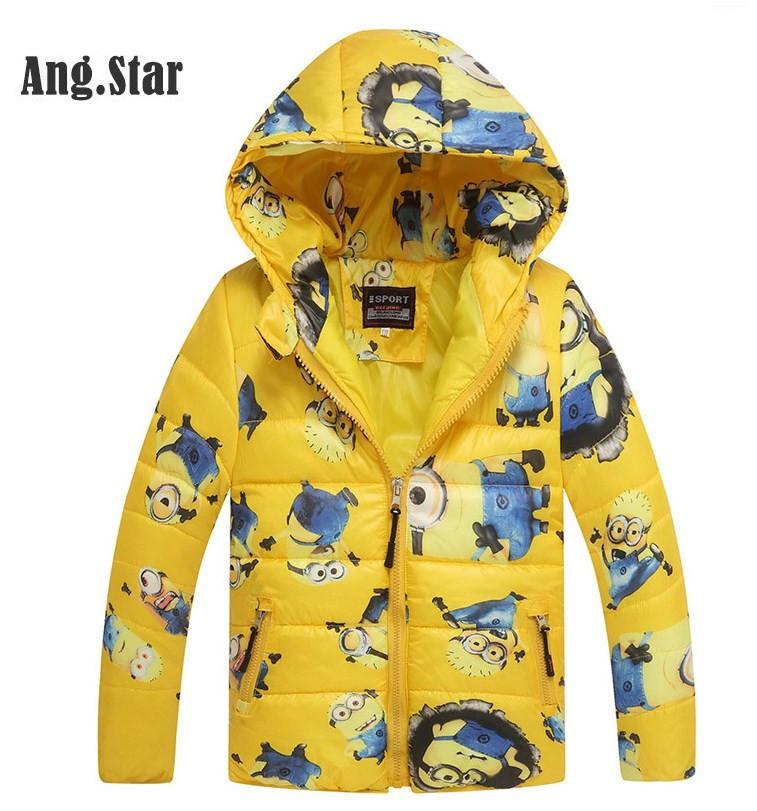 """Куртка детская для мальчика весна осень """"Миньоны"""""""