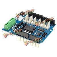 L298N l298p 4a двигателя двухканальный модуль драйвера двигателя щит R3 для Arduino