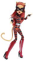 Кукла Торалей Страйп Супергерои (Monster High Power Ghouls Toralei Stripe as Cat Tastrophe)