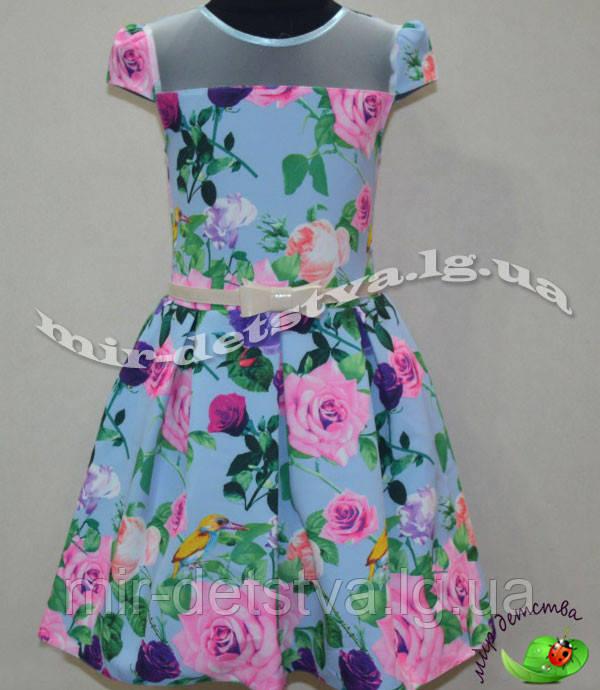Платье для девочки 128-134