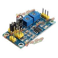 NE555 импульсный генератор прямоугольных частоты волны регулируемый рабочий цикл генератора мини-сигнала