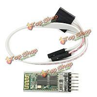 JY-Микроконтроллер беспроводной Bluetooth  модуль последовательной передачи HC06 ведомый с опорной плитой белого припоя