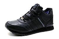 Кроссовки зимние Supo Air Max, мужские, на меху, черные, р. 41 42