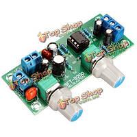 Сабвуфер предусилитель предусилитель доска NE5532 DC 12V-24v фильтр нижних частот