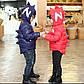 """Детская демисезонная куртка, тонкий пуховик """"Дракоша"""" красный, фото 2"""
