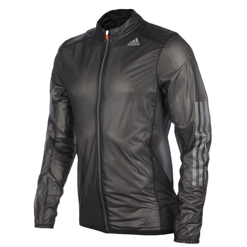 Ветровка, куртка для бега спортивная, мужская Adidas AdiZero Climaproof Mens Running Jacket f92678 адидас