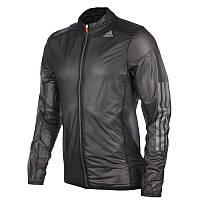 Ветровка, куртка для бега спортивная, мужская Adidas AdiZero Climaproof Mens Running Jacket f92678 адидас , фото 1