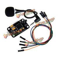 Geeetech модуль распознавания голоса с микрофона управления голосовой платы для Arduino