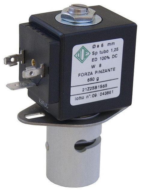 Пережимной электромагнитный клапан ODE (Italy)