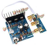 TDA2030А 2.1 сабвуфер Блок электроники плата усилителя 3-канальный