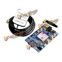 SIM808 разработка смс доска с сма IPX GPRS антенна GSM GPS модуль