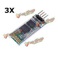 3шт HC-06 Беспроводная связь Bluetooth  приемопередатчик модуль ведомое последовательной связи для Arduino