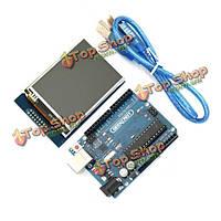 Geekcreit™ UNO R3 ATmega328P трогайте модуль дисплея для Arduino TFT плата и 2.8-дюйма