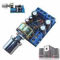TDA2822M 1w х 2 двойных стерео усилитель модуль управления громкости платы канального звука