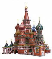 Картонная модель Собор Василия Блаженного 195 Умная бумага