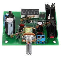 LM317 регулируемый стабилизатор напряжения питания модуля понижающий мощность LED метр