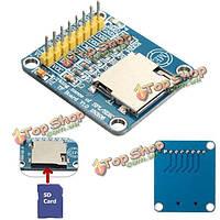 3.3v/5V Micro SD считыватель карт TF СПИ/SDIO двойной модуль платы для Arduino