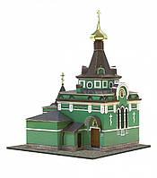 Картонная модель Часовня Ксении Петербургской 197 Умная бумага