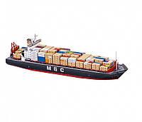 """Сборная модель из картона """"Контейнеровоз MSC Атлантик"""""""