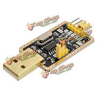 CH340г USB для ТТЛ автоматический конвертер щеточного модуля адаптера STC