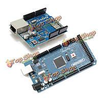 Ethernet щит w5100 + Р3 mega2560 atmega2560 по мере того-16au набор для Arduino