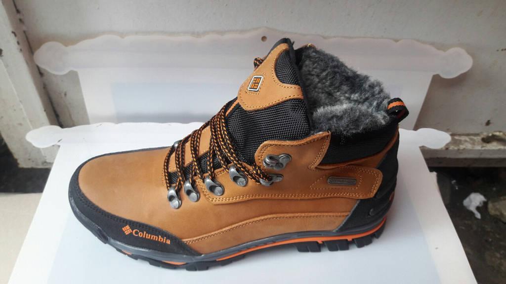 Мужские кожаные зимние ботинки Columbia (реплика)   продажа, цена в ... c1de5afaf75