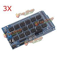 3шт мега датчик щит v2.0 плата расширения для Arduino примененных atmega 2560 R3 является